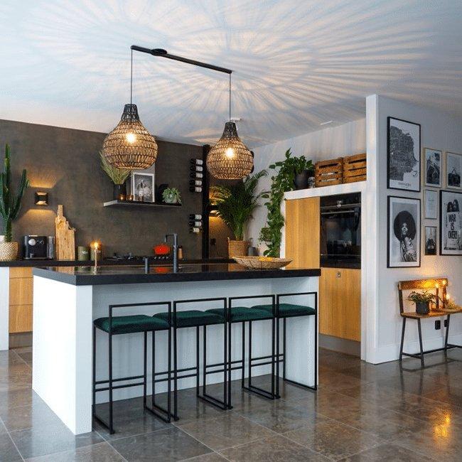 Lightswing Keuken (Twin mat zwart)