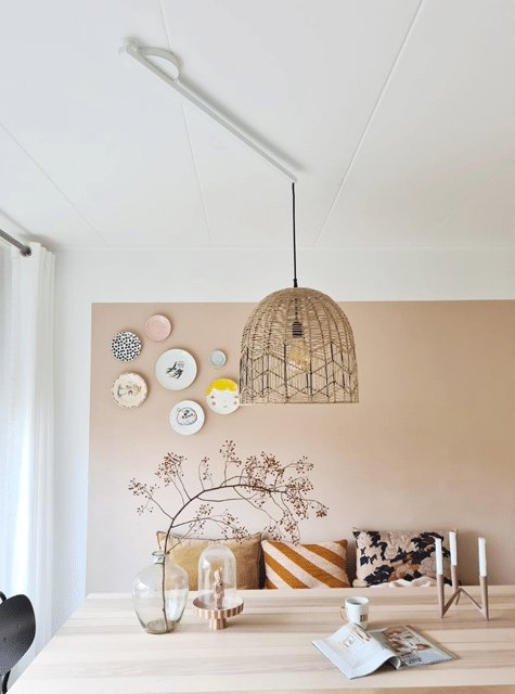 Je hanglamp perfect boven de eettafel