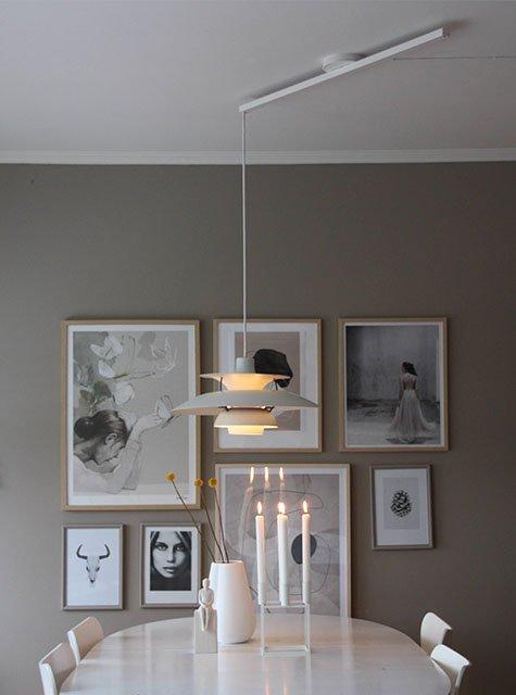 Lightswing Eetkamer (Single Mat wit)