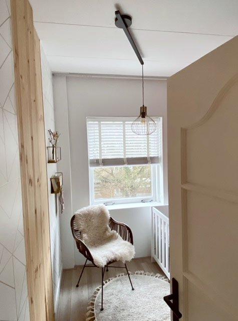 Lightswing Babykamer (Single Mat zwart)