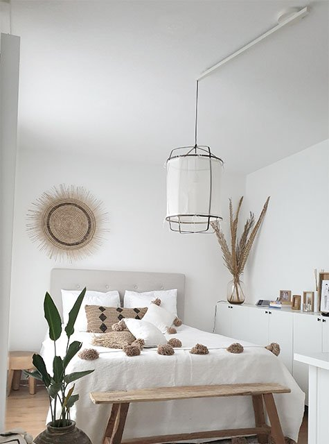 Lightswing Slaapkamer Wit (Single Mat wit)