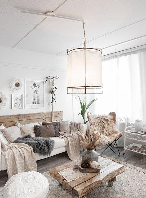 Lightswing Woonkamer Scandinavisch (Single Mat wit)